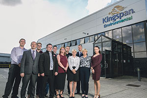 Members of the Kingspan Sensor Support Team including staff members from Technical/R&D/Software Development/Sales/Administration and Commercial